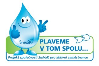 Logo SmVaK Ostrava Plaveme v tom spolu