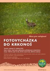 plakát Fotovycházka KRNAP