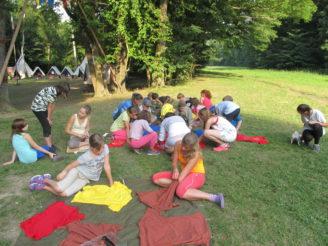 Lesy ČR - letní dětský tábor