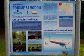 info tabule kudy odtéká voda - Naučná stezka Turnov - IMG_0768