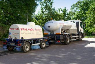 pitná voda cisterna zásobování