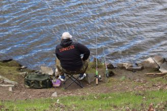 rybář - Vltava
