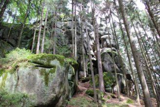 skalní hrad Adršpach