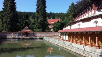 říční a sluneční lázně Luhačovice