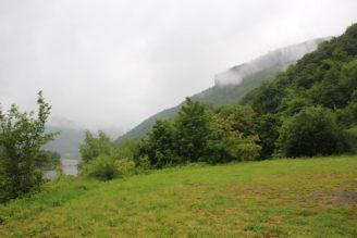 Děčín Labe hory mlha - IMG_7418