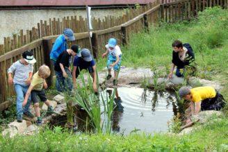 Zelená oáza zahrada Na dotek Horní Maršov