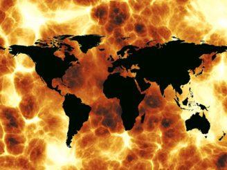 memza - ilustračka války změny klimatu