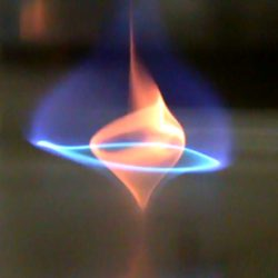 vír modrého ohně