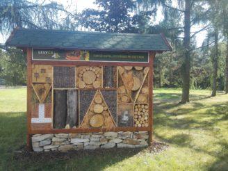 Lesy ČR - hmyzí hotel Týniště nad Orlicí