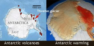 Antarktida ochlazování osel 2017