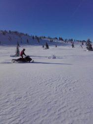 KRNAP sníh skútr