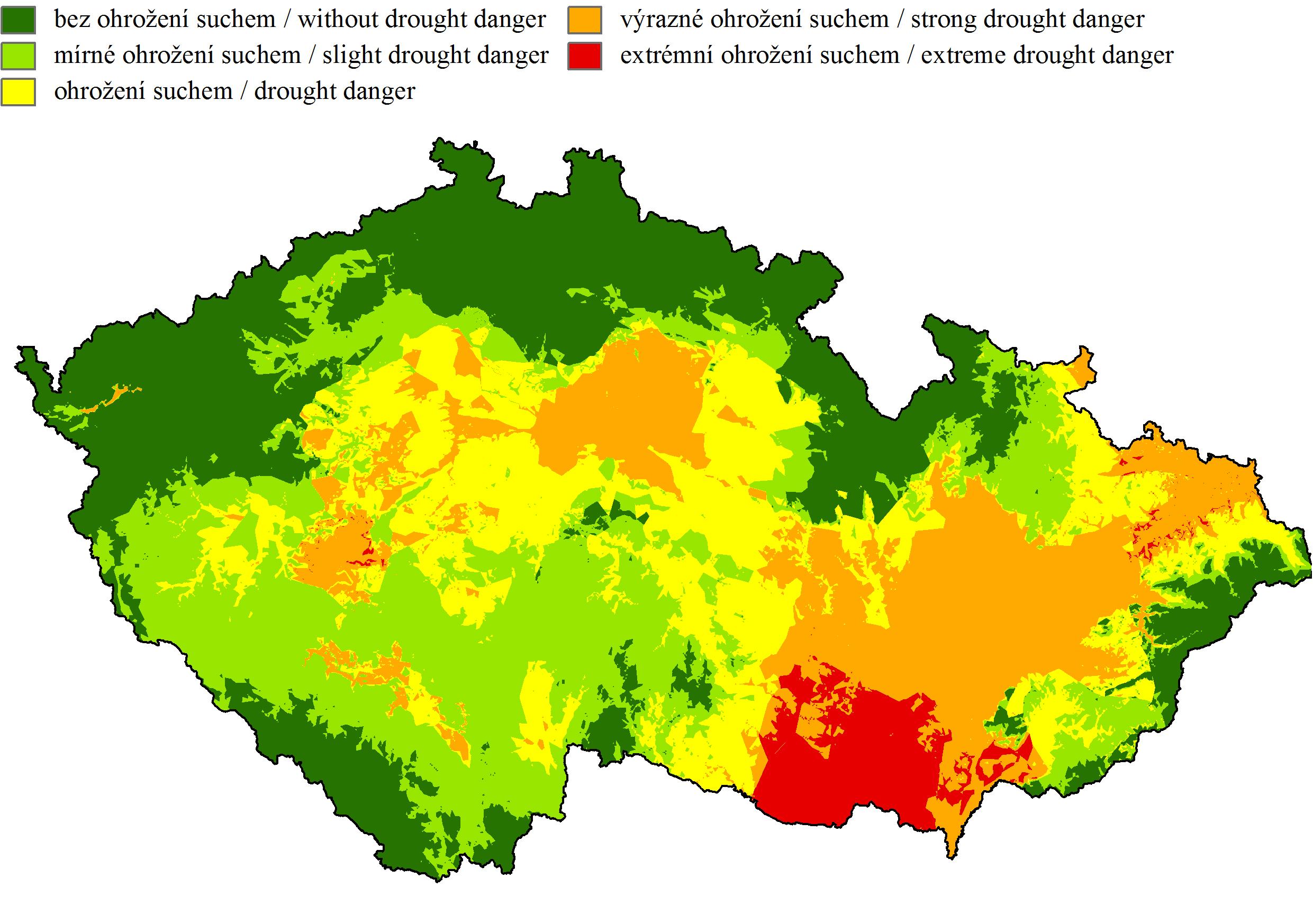Mapy Ohrozeni Smrkovych Porostu Suchem Pomohou Rozpoznat Rizika