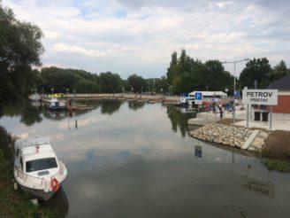 Petrov přístav Baťův kanál ŘVC