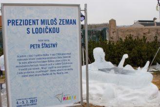 prezident Miloš Zeman - Harfa - ledoví státníci únor 2017 - IMG_2215_-_kopie