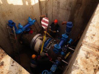 JVS - oprava dálkového vodárenského řadu
