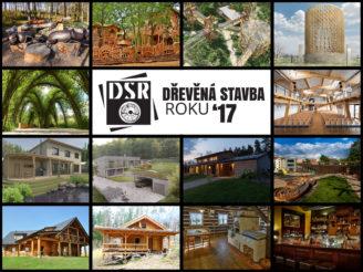 Vítězné práce soutěže Dřevěná stavba roku 2017