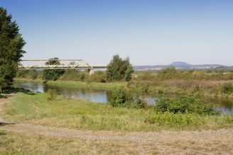 kanál Hořín krajina - Říp - IMG_5784