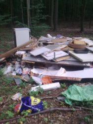 odpad skládka