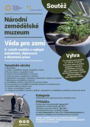 plakát NZM Věda pro zemi