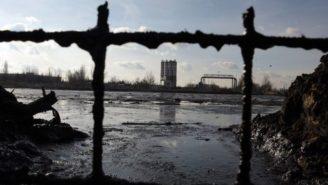 ropné laguny Ostrava foto Jan Langer