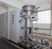 ÚV Podhradí - výroba ozónu SmVaK