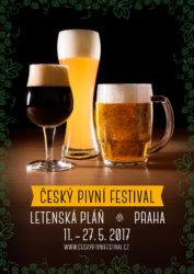 Český pivní festival 2017 - plakat