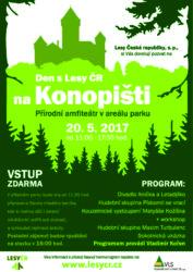 Den s Lesy ČR - Konopiště-plakát_web