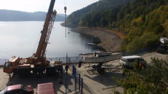 transport loď Orlík - Povodí Vltavy