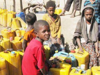 Afrika voda sucho