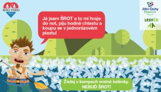 Jedu vodu - plakát Šrot