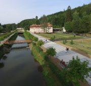 pěší zóna Lázně Luhačovice