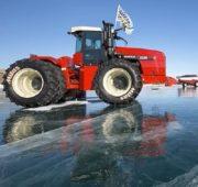 Pláště Mitas podnikly expedici na zamrzlém jezeru Bajkal