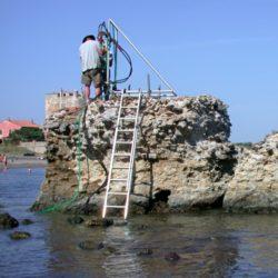 římský beton osel