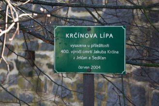 Krčínova lípa u tvrze Křepenice - IMG_0468