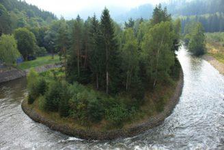 VD přehrada Březová Povodí Ohře