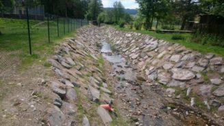 Jindřichovický potok po obnově