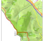 NP Šumava mapa zákaz vstupu