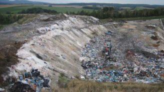 skládka odpady ČAOH