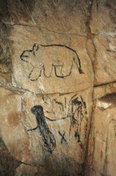 KRNAP - Albeřická jeskyně vandalové