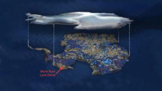 osel - zdroje tepla pod Antarktidou
