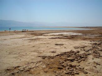 Izrael Mrtvé moře sucho