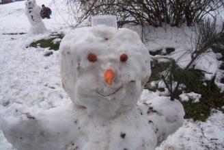 sníh sněhulák