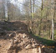 ČIŽP navážka zeminy a poškození krajinného prvky