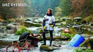 Čistá řeka Sázava foto 2018 Olga Špátová