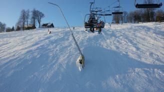 lyžování - Paseky