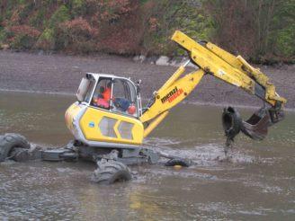 přehrada Brno pneumatiky odstraňování PMO