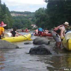 vodáci Sázava raft