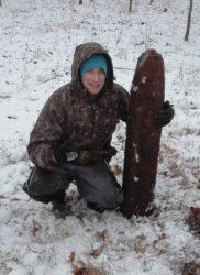 Boří les munice raketa