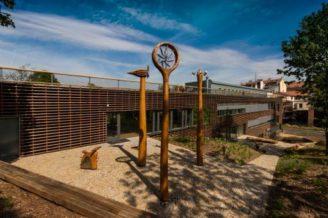 Otevřená zahrada areál nadace partnerství