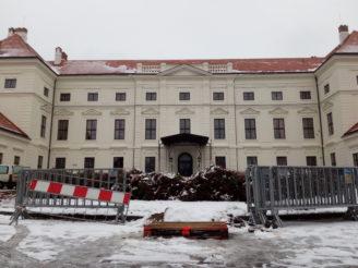 Zámek Židlochovice LČR únor 2018